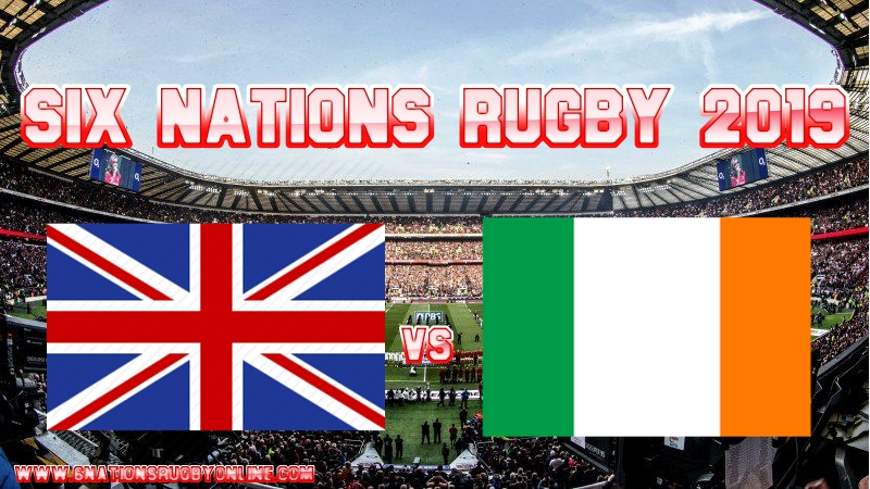 England vs Ireland Rugby Live Stream On 2 Feb 2019