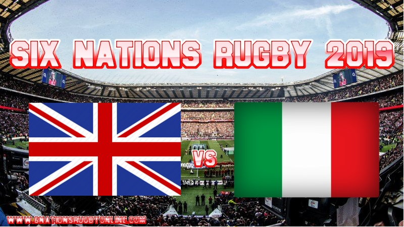 England VS Italy Rugby Live Stream On 9 March 2019