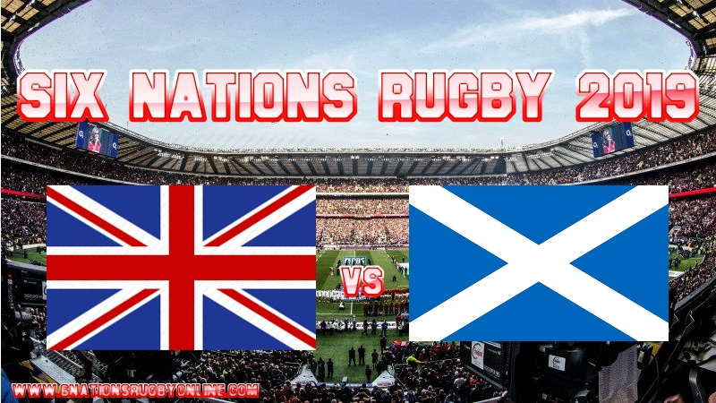 Scotland VS England Rugby Live Stream On 16 March 2019