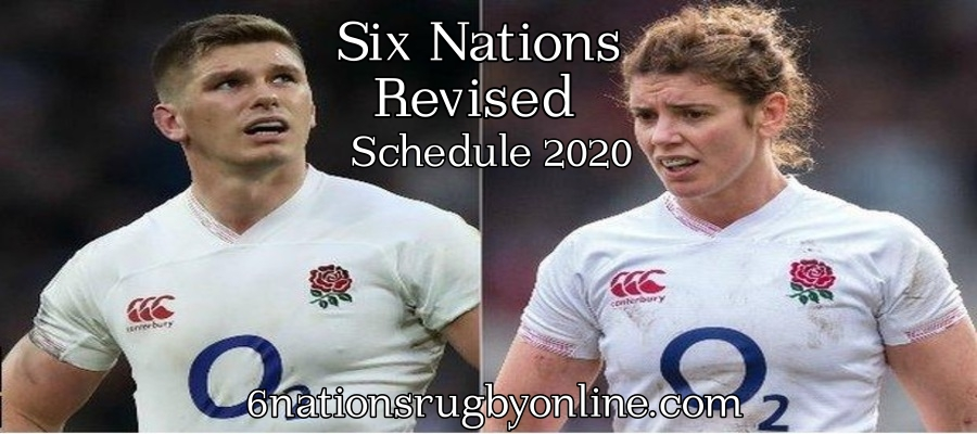 Six Nations 2020 Revised Schedule For Men and Women