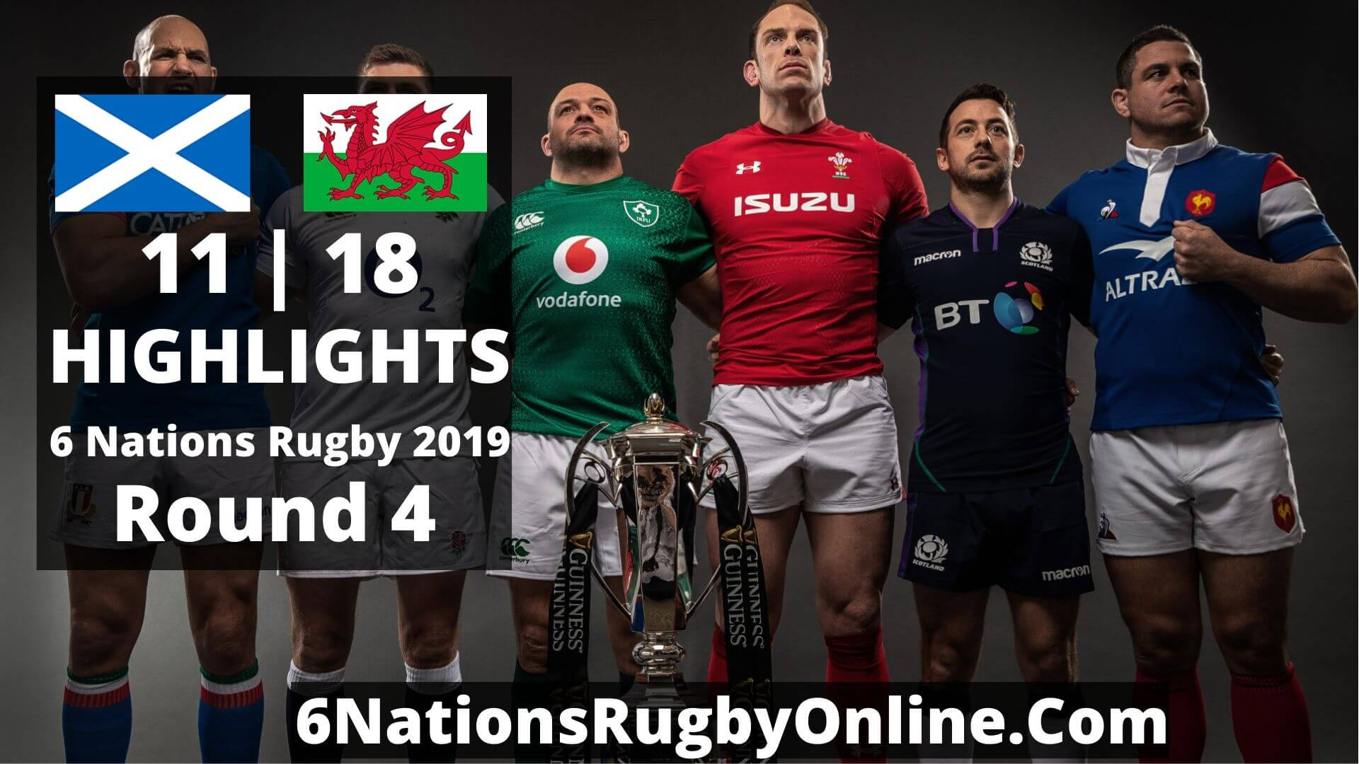 Scotland Vs Wales Highlights 2019 Six Nations Rugby Round 4
