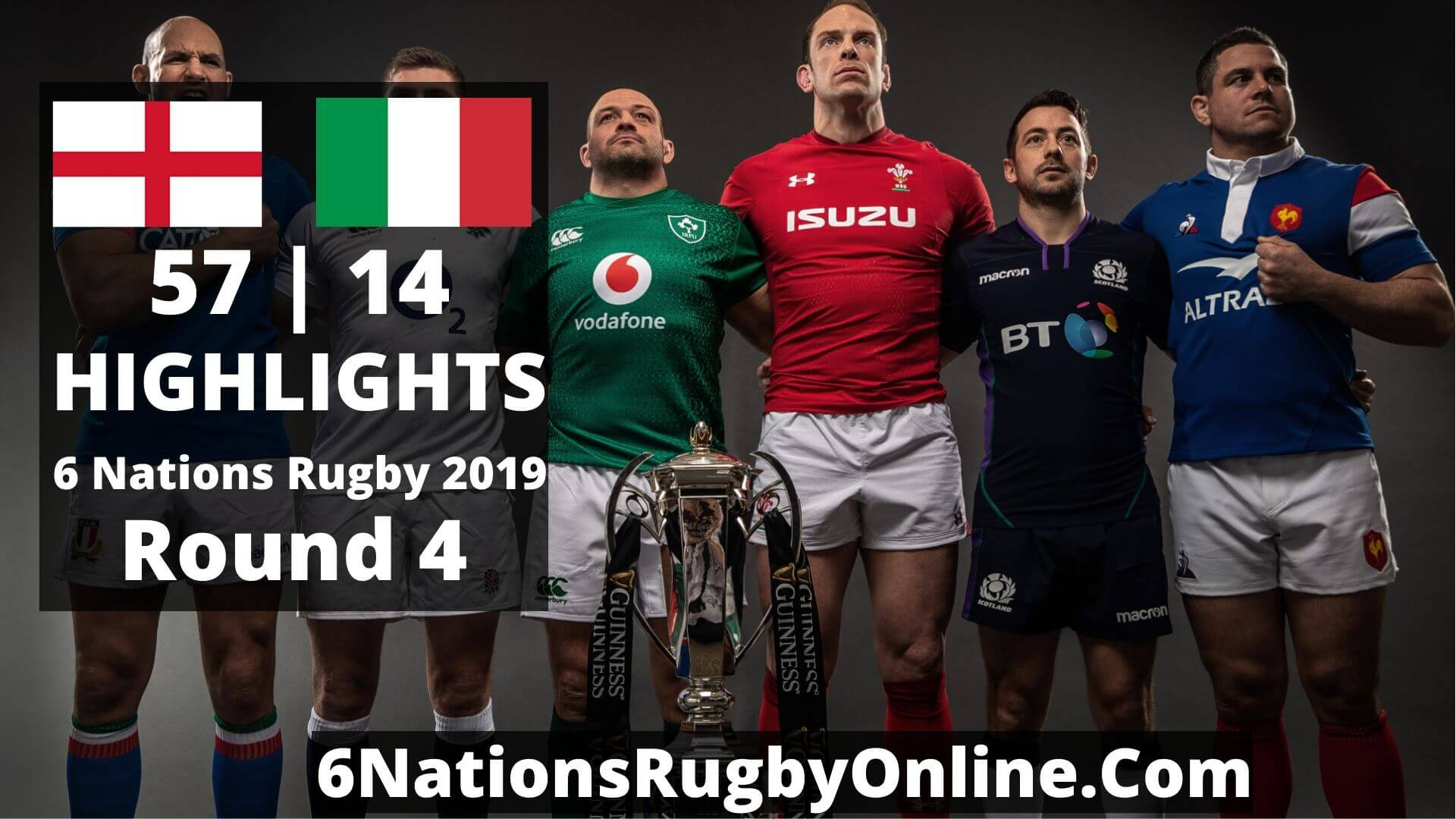 England Vs Italy Highlights 2019 Six Nations Rugby Round 4