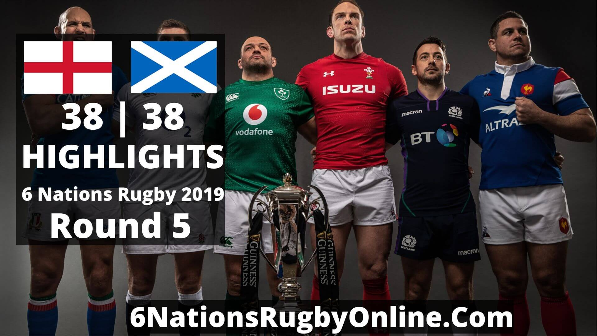 England Vs Scotland Highlights 2019 Six Nations Rugby Round 5