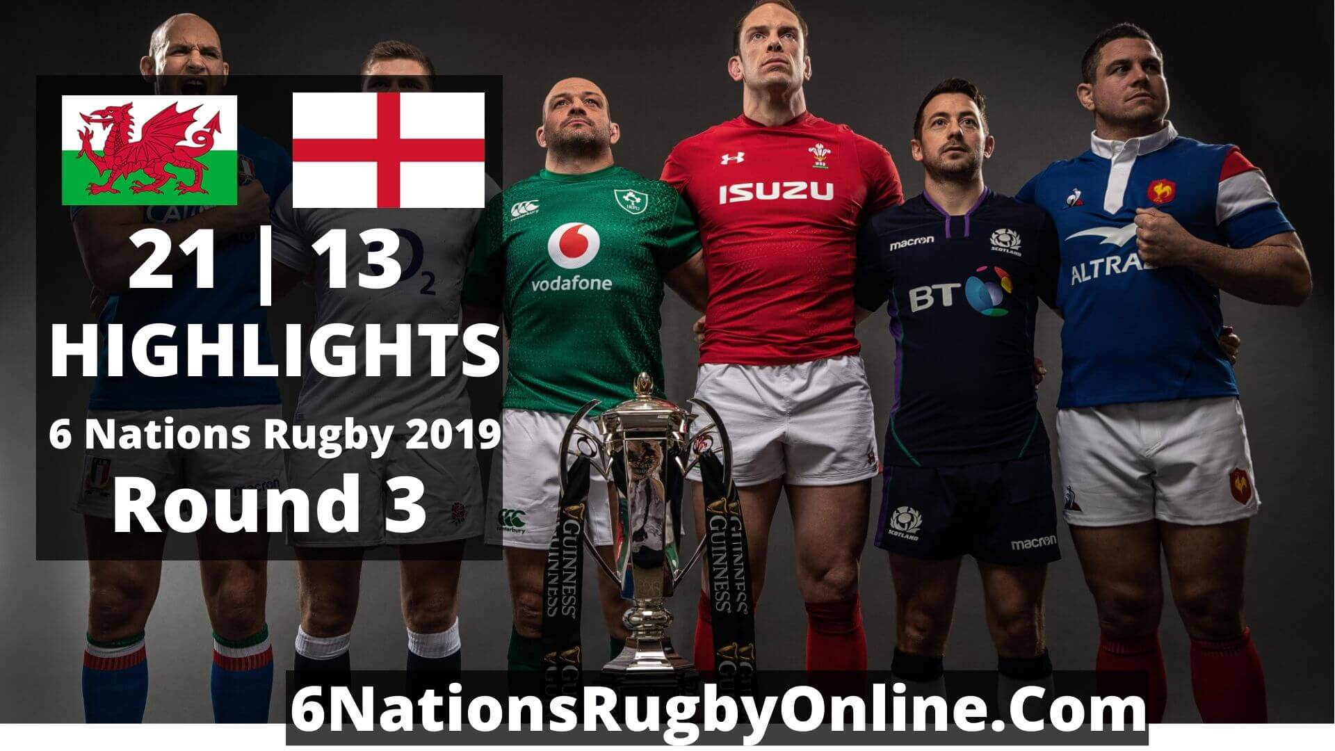 Wales Vs England Highlights 2019 Six Nations Rugby Round 3