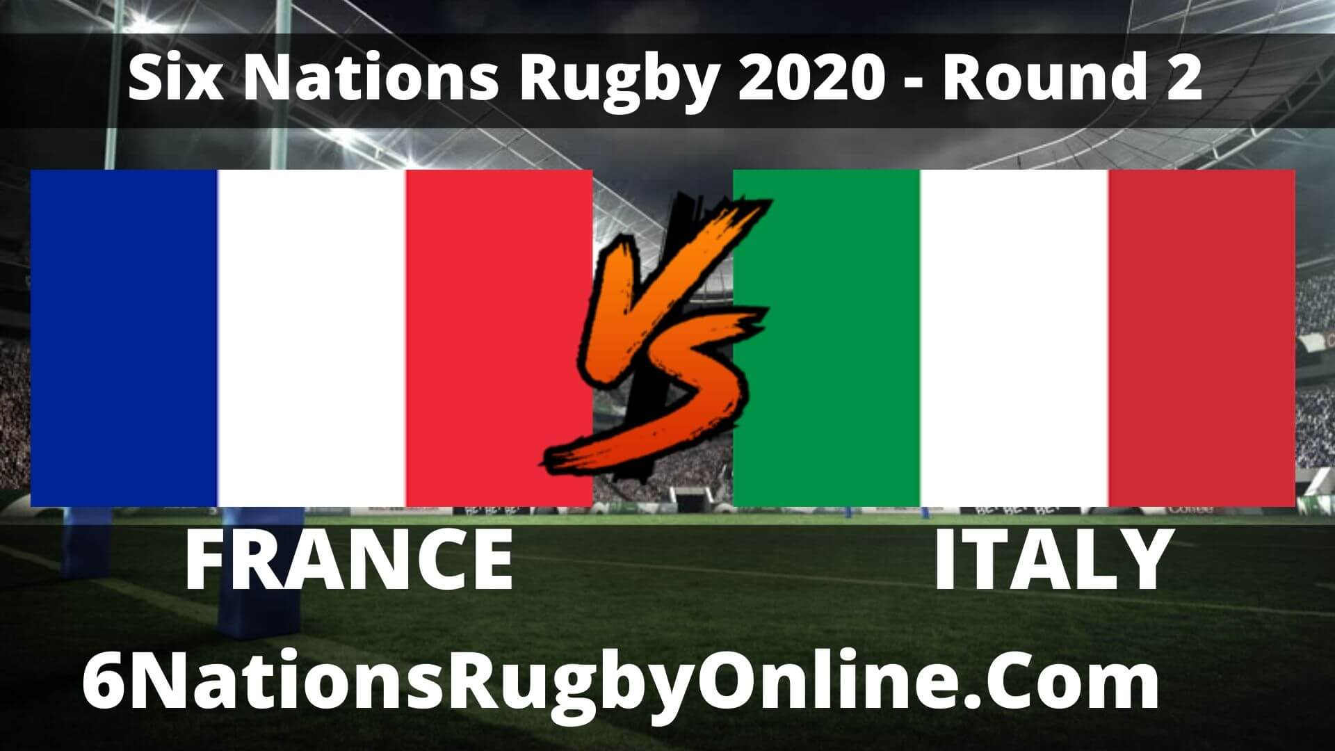 France vs Italy Live Stream 2020 Round 2 | Match Replay