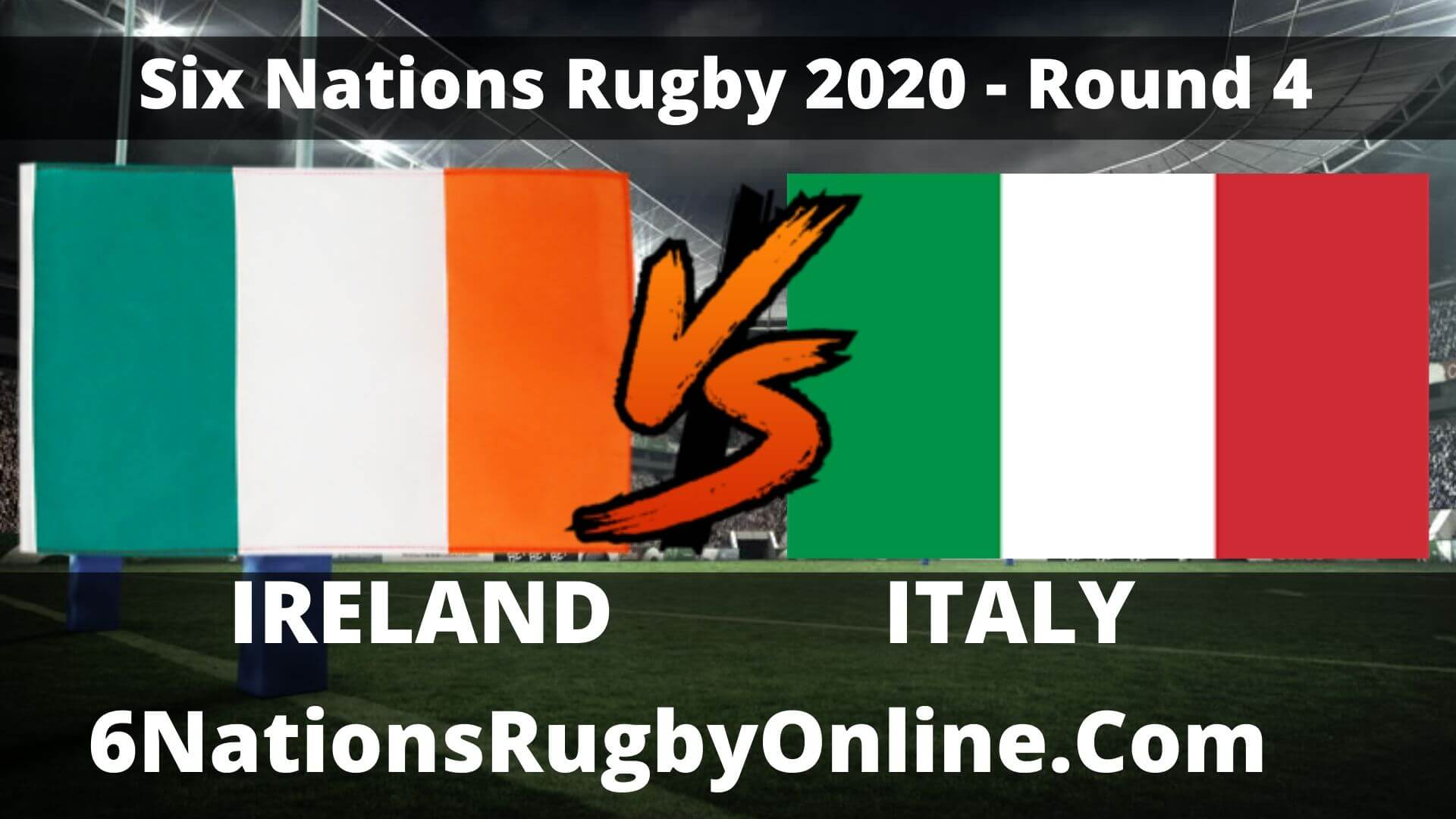 Ireland vs Italy Live Stream 2020 Round 4 | Match Replay