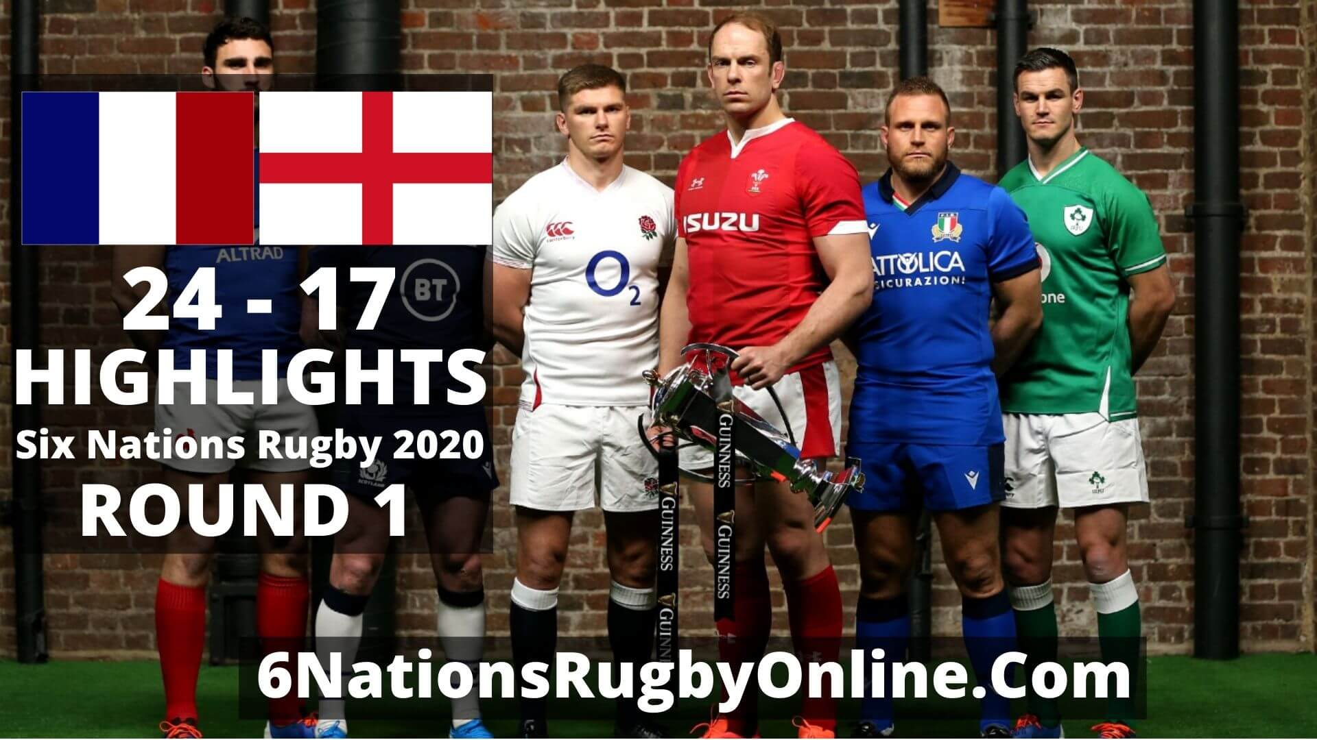 France vs England Six Nations Rugby Highlights 2020 Full Match Replay