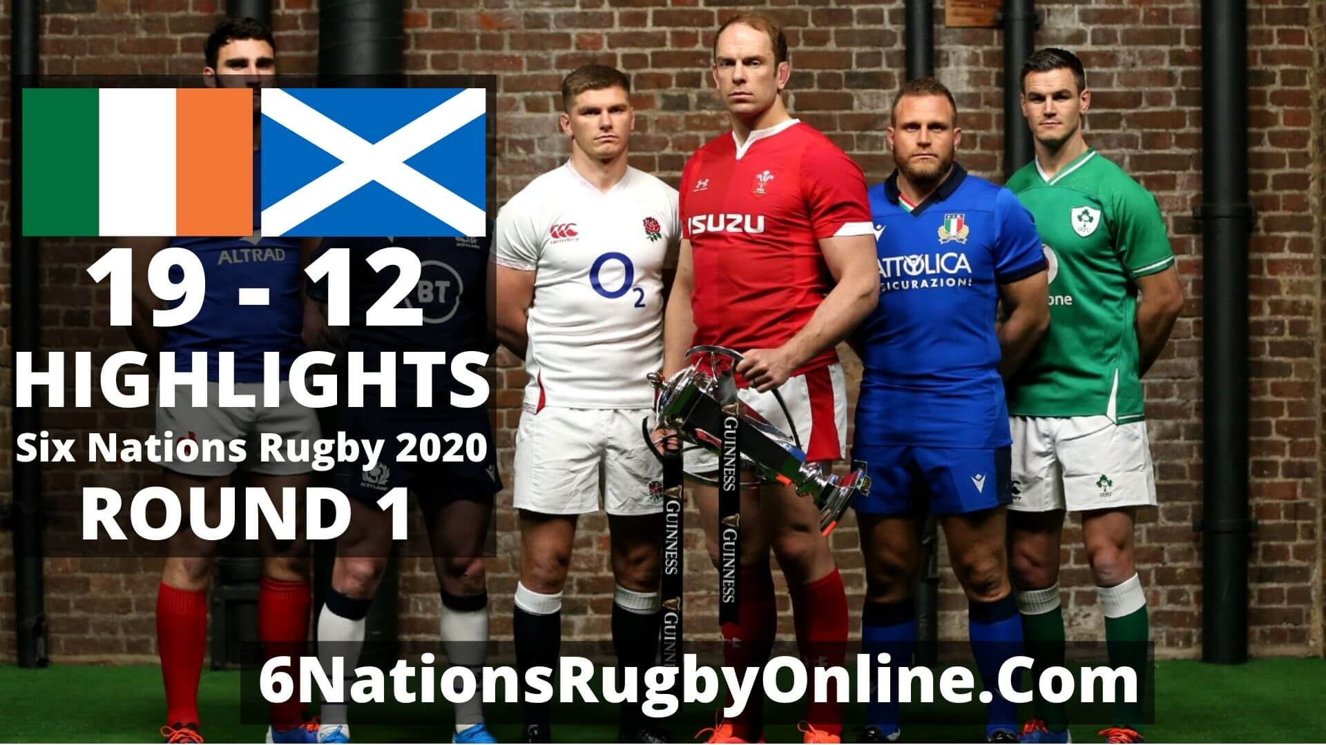 Ireland vs Scotland Six Nations Rugby Highlights 2020 Full Match Replay