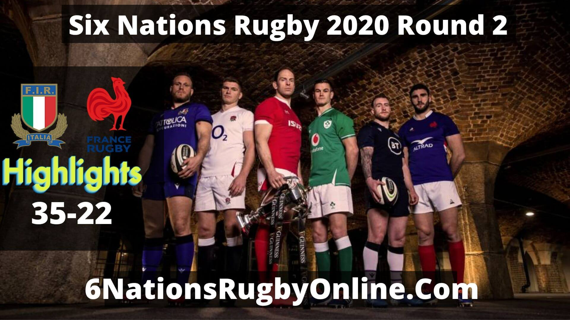 Italy Vs France Highlights 2020 Rd 2 Six Nations Rugby