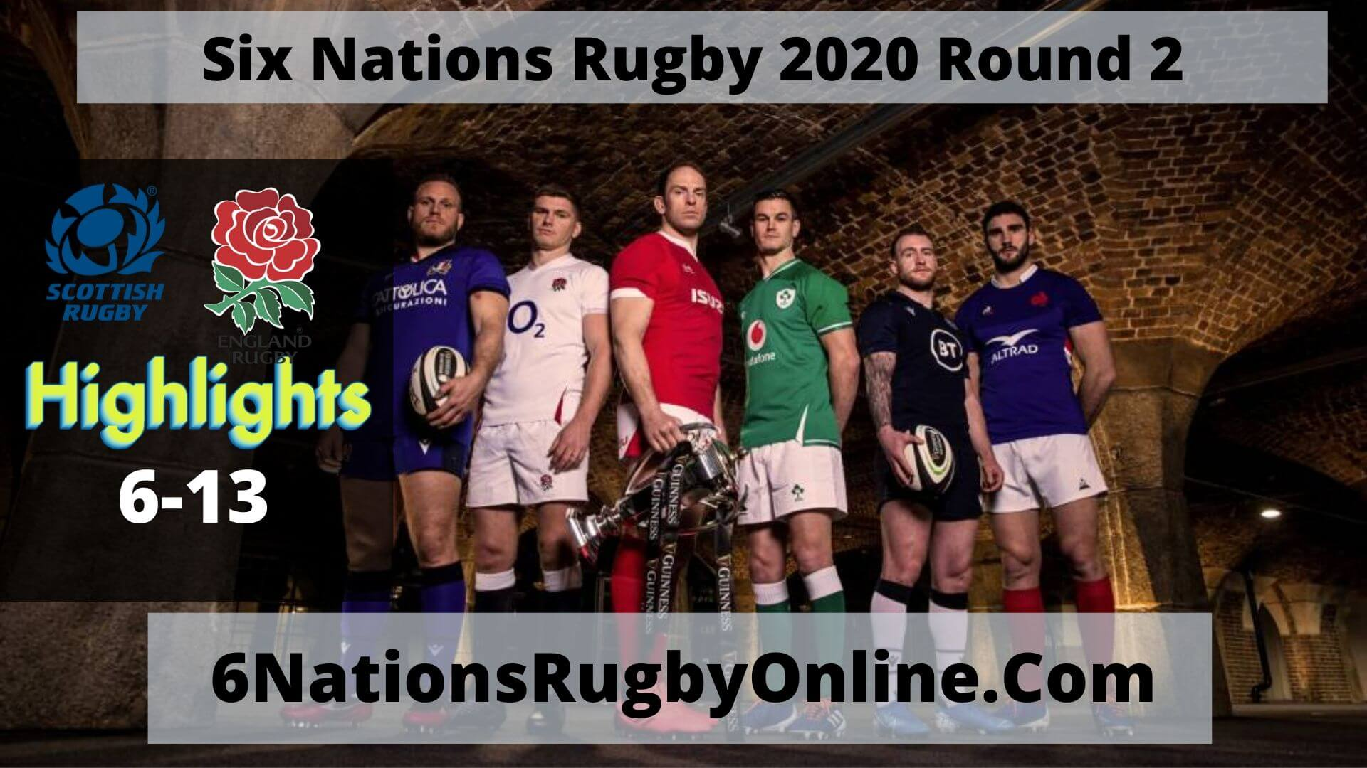 Scotland VS England Highlights 2020 Six Nations Rugby Round 2