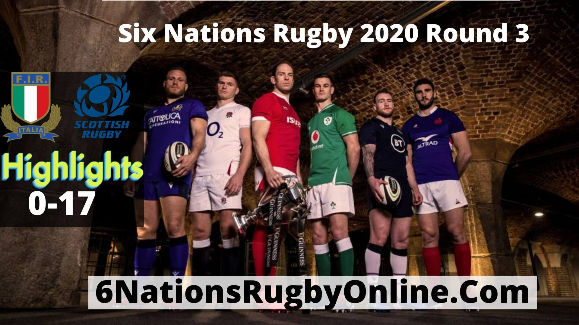 Italy Vs Scotland highlights 2020 Rd 3 Six Nations Rugby
