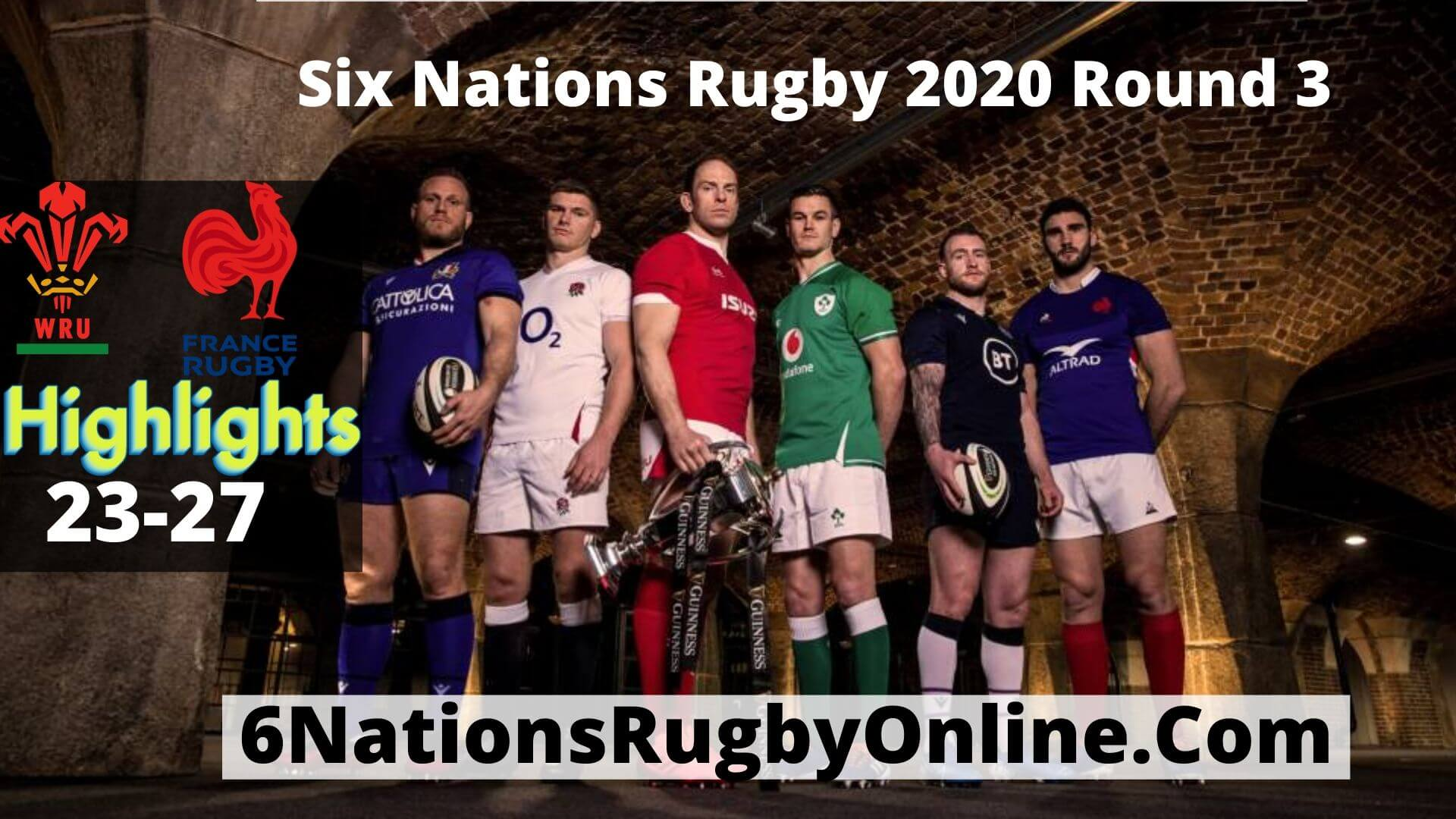 Wales Vs France Highlights 2020 Rd 3 Six Nations Rugby