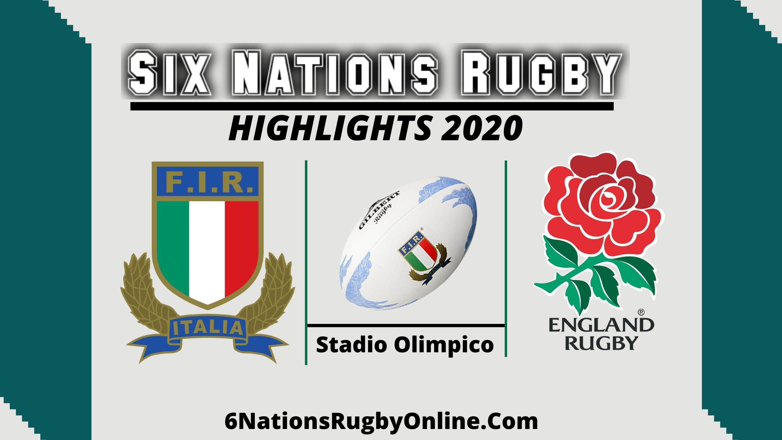 Italy vs England Highlights 2020 Rd 5