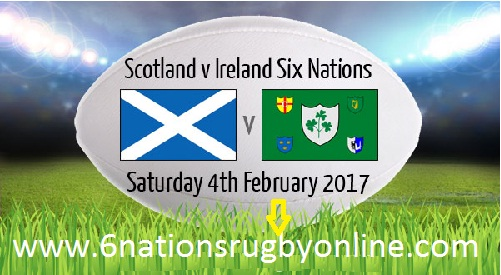 Watch Ireland vs Scotland 6 Nations Rugby Live