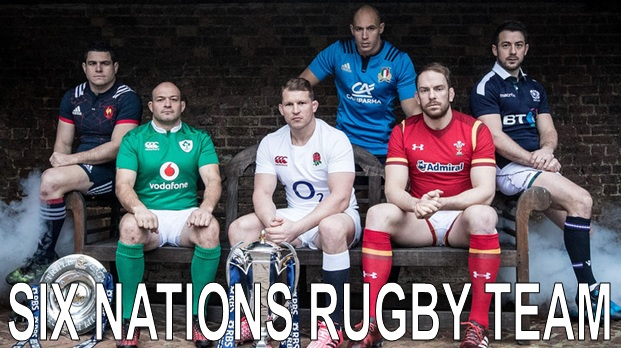 6 Nations Rugby Team