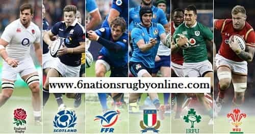 6 Nations Rugby Schedule 2018