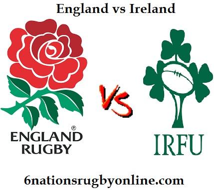 England vs Ireland Rugby Live Stream