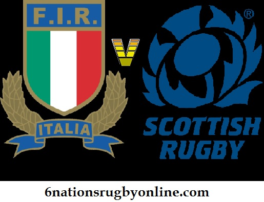 Italy vs Scotland Rugby Live