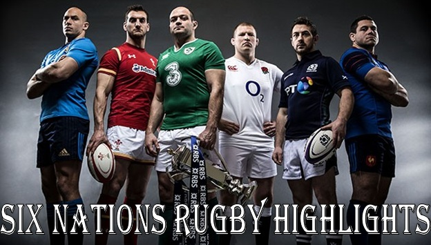 Six Nations Rugby Highlights