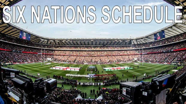Six Nations Rugby Schedule