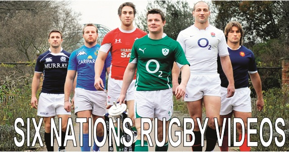 Six Nations Rugby Videos