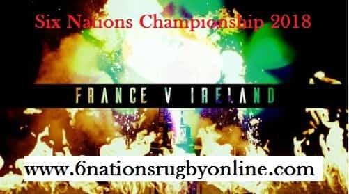 France vs Ireland 6 nations 2018