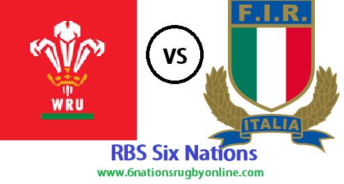 Wales vs Italy live