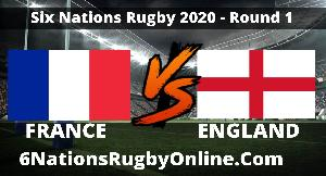 Watch France VS  England 6 Nations Rugby Live